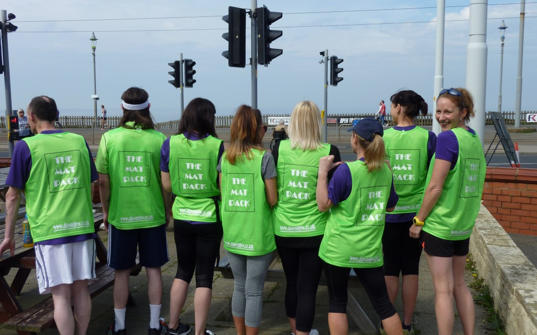 The 'Matpack' Team raises £1000 for its chosen charities